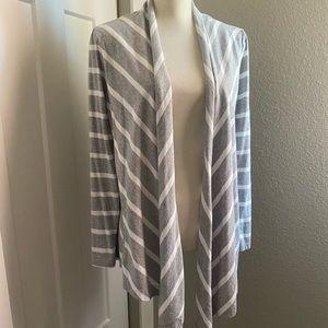 Ann Taylor Loft Long Sleeve Poncho Wrap Open Front